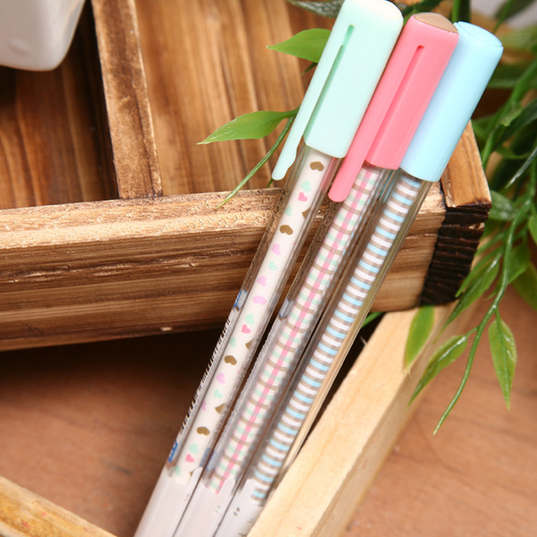 factory direct sales stationery painted time series of neutral gel pen 0.35mm AGPA1502 spot 15pcs/set manufacturer of spot sales promotion