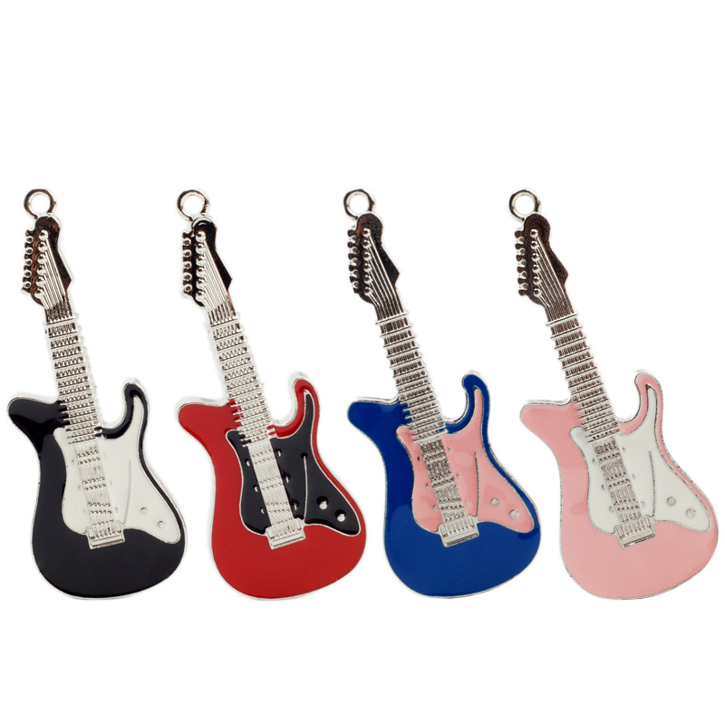 Electric Guitar Usb Flash Drive 4GB 8GB 16GB 32GB 64GB Creative Pendrive Gift Usb Stick Metal Materials Disk On Key