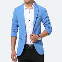 New 2017 During The Spring And Autumn Leisure Blazer Youth Of Cultivate One S Morality Pure