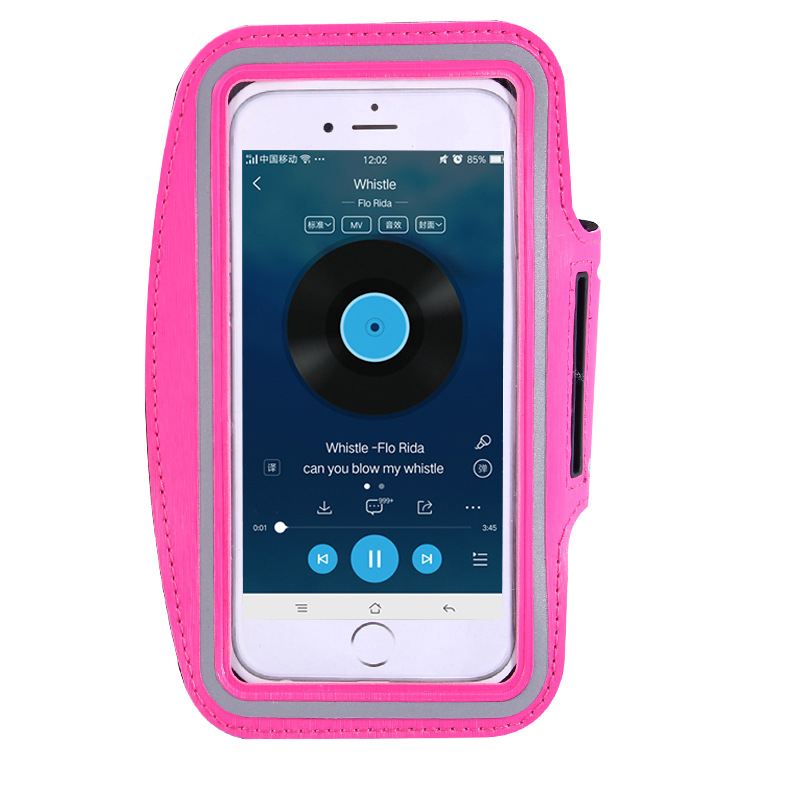 Image 3 - ユニバーサル 4 6 インチスポーツ用防水アームバンド iPhone 6 7 8 プラス X XS 最大 XR  携帯電話ケース屋外ランニングスポーツ腕章 -    グループ上の 携帯電話