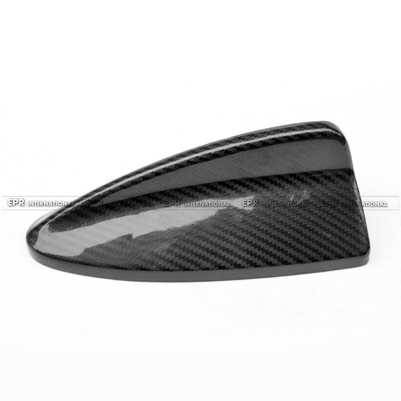 Car styling For BMW E82 E87 E90 E91 Coupe E92 2 Door E93 E92 M3 Carbon Fiber Antenna Aerial Glossy Finish Drift Trim Cover Kit