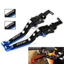 FREAXLL For Yamaha XV535 XV700 XV1100 XV 535 700 1100 Virago CNC Aluminum Adjustable Handle Motorcycle Brake Clutch Levers цены
