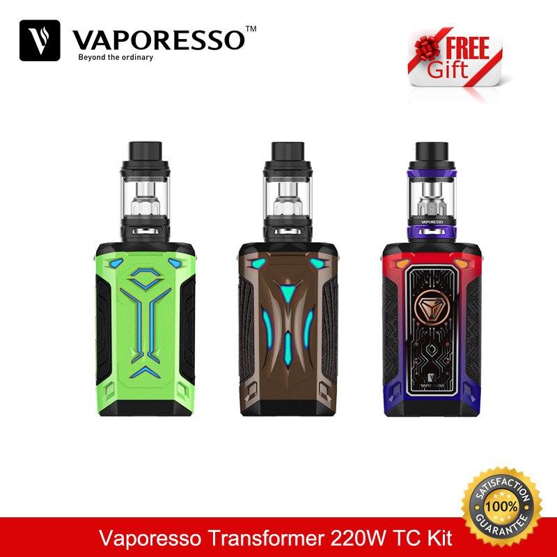 D'origine Cigarette électronique Vaporesso Commutateur 220 w TC Boîte Mod Kit avec NRG Sub Ohm Réservoir De Vape 5.0 ml Capacité vaporisateur