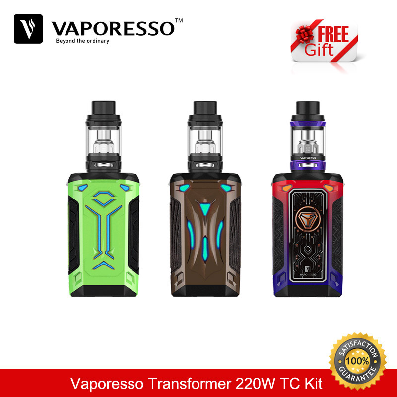 cigarette electroniqu Vaporesso Switcher 220W TC Box Mod Kit with NRG Sub Ohm Tank 5.0ML Capacity Vaporizer Vape VS ijust s Coil