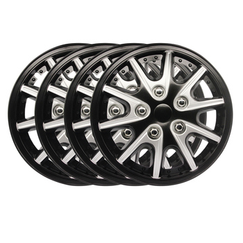 4pcs 14 inch Car Wheel Trims/Hub Covers Hub Caps Car Tuning