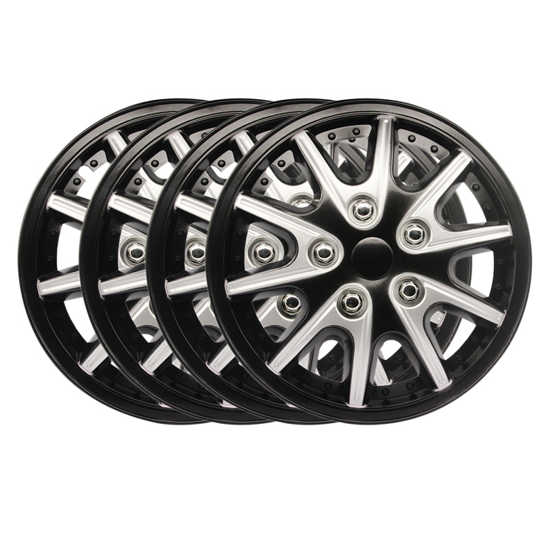 4pcs <font><b>14</b></font> inch <font><b>Car</b></font> <font><b>Wheel</b></font> Trims/Hub <font><b>Covers</b></font> Hub Caps <font><b>Car</b></font> Tuning image