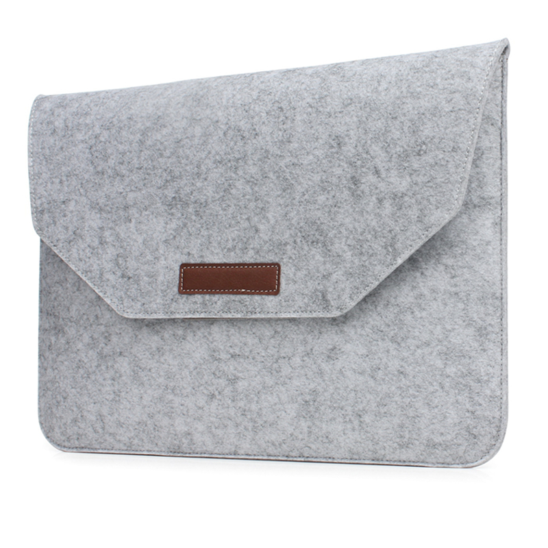 Soft Wool Felt Laptop Bag Case for Coque Macbook Air 13 Pro Retina 13 15 Slim Anti scratch Laptop Sleeve Cover for 13 3 15 4 quot in Laptop Bags amp Cases from Computer amp Office