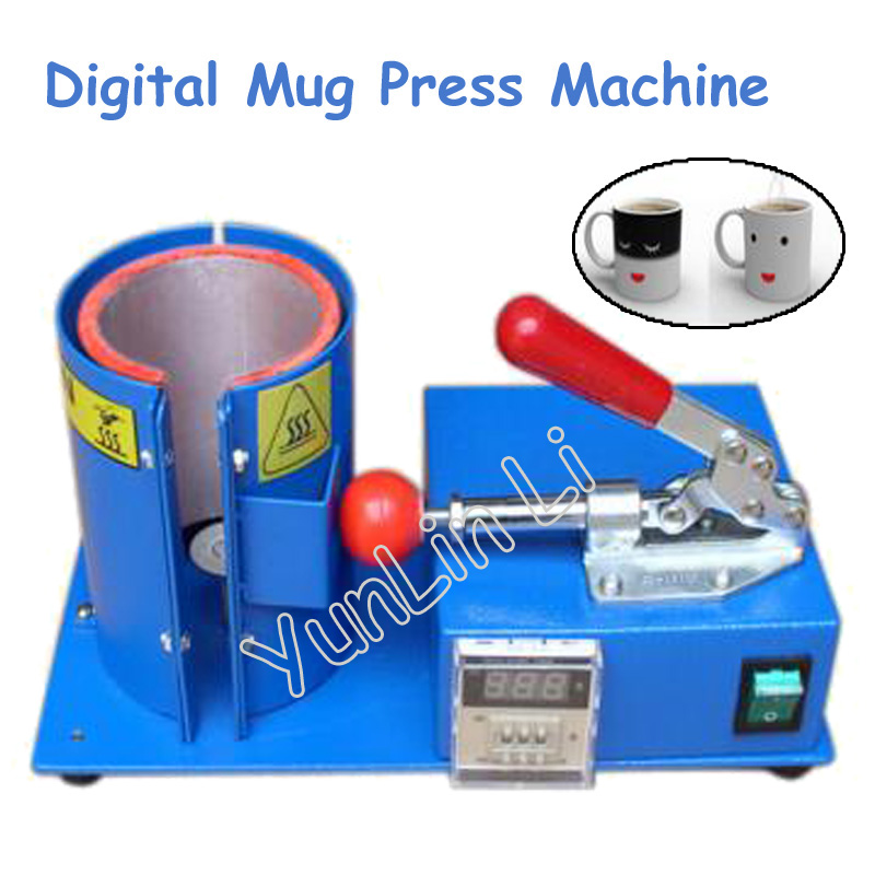Digital Mug Press Machine Thermal Transfer Baking Cup Machine Vertical Personality Mug Making Machine Hot Press Machine MP105