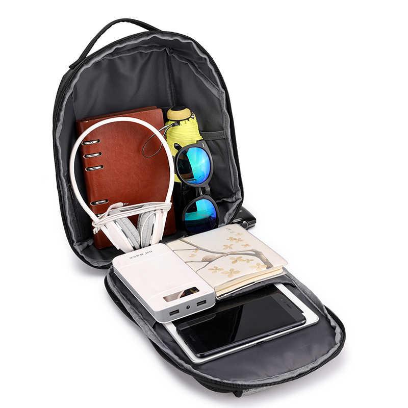 Повседневное для мужчин груди мешок с USB зарядка небольшой рюкзак Человек Досуг сумка водостойкая ткань Оксфорд многофункциональная Наплечная Сумка Новый 2019