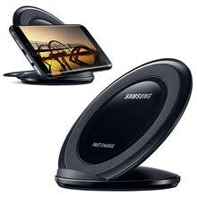 100% оригинальные аутентичные Samsung EP-NG930 быстрой зарядки Pad Беспроводное зарядное устройство для Samsung Galaxy S7 край G9350 G9300 S8 SM-G9500