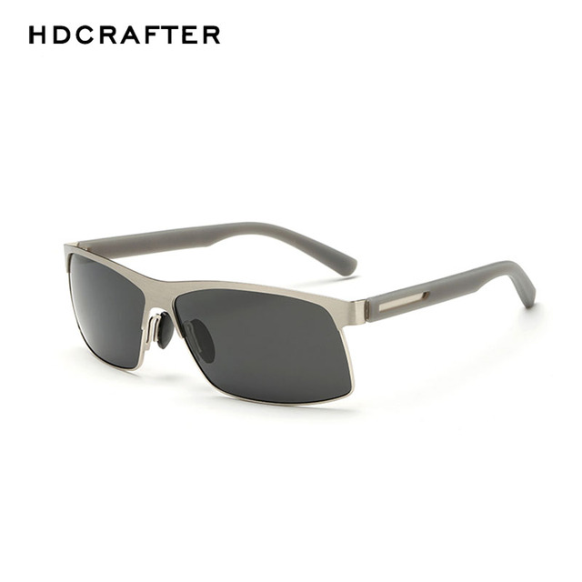 844f5f7dae New HDCRAFTER Sunglasses Men Polarized Driving Sun Glasses Mens Sunglasses  Brand Designer Fashion Sunglasses Oculos De Sol-in Sunglasses from Men s ...