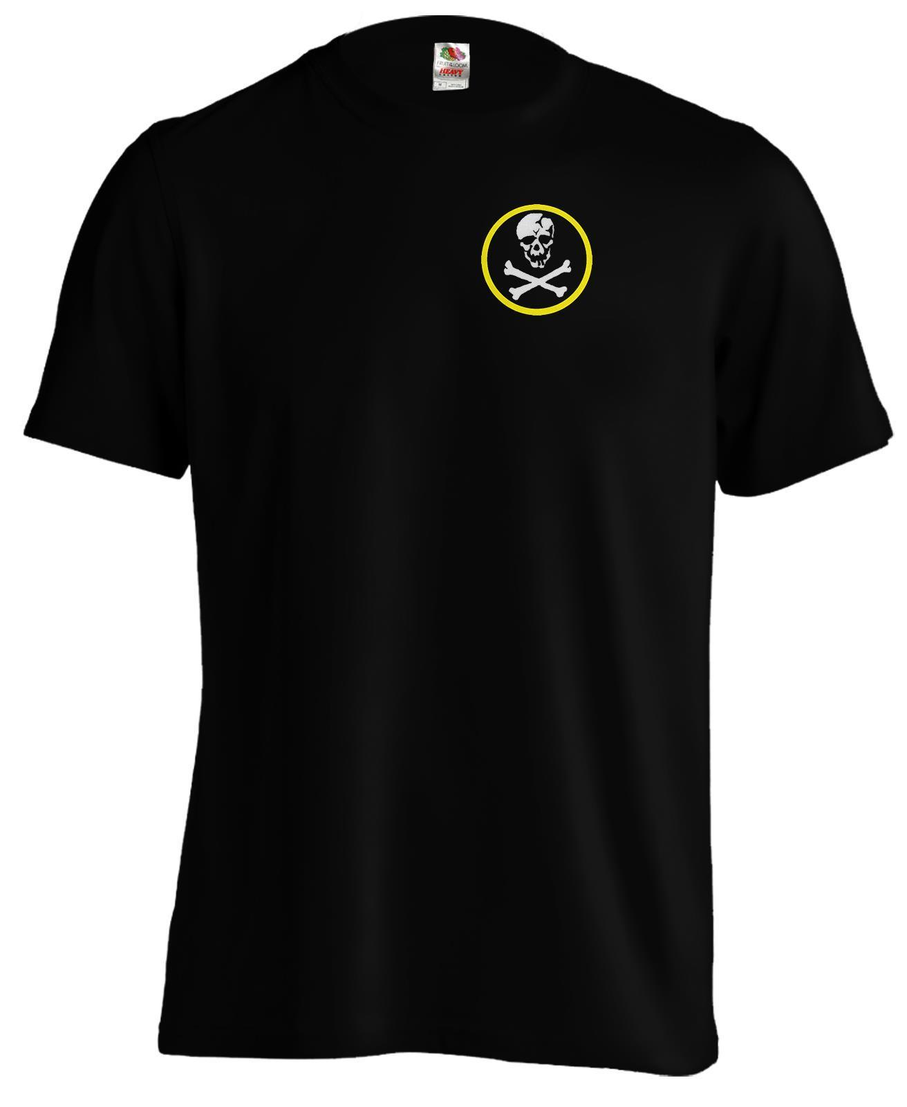 new ROBOTECH anime SKULL SQUADRON logo Classic 80s White T-shirt S to 4XLT