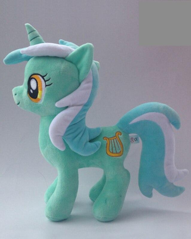 30cm Unicorn Plush Pony Toy Friendship is Magic Cartoon Rainbow Horse Stuffed Toys for Children Ty Beanie Boos Unicornio Pelucia