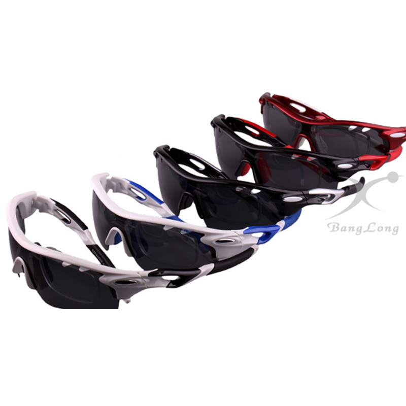 Color Changing Polarized Glasses Bicycle Bicycle Glasses Mountain Bike Bicycle Sunglasses 3 Lens Set Outdoor Sports Goggles in Cycling Eyewear from Sports Entertainment