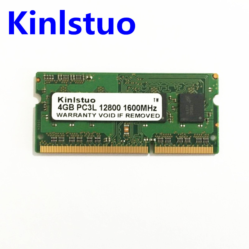 Free shipping! high quality low voltage original Laptop memory Rams DDR3L <font><b>4G</b></font> <font><b>1600</b></font> 4GB 1Rx8 PC3L-12800S image