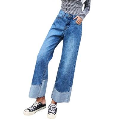 Porter Sac noir Omg Des bleu Femmes Jeans Beige Pantalon Kelly Droit 7qWq05Tza
