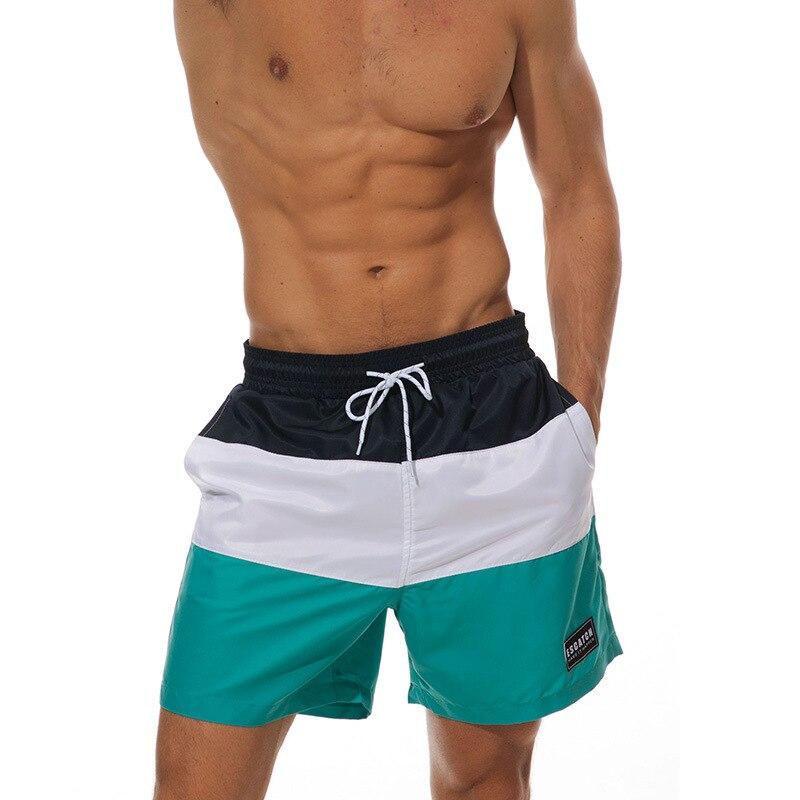 PADEGAO male quick dry   Board     Shorts   swimming   shorts   summer polyester beach   shorts   Swimsuit surf Sweatpants   Board     shorts   Bermuda