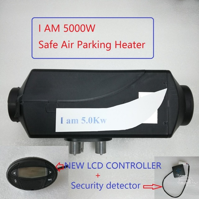 Safe Parking Heater New Lcd 5kw 12V Air Heater Similar Auto Liquid  With Webasto Heater Not Original Free Shipping Made In China