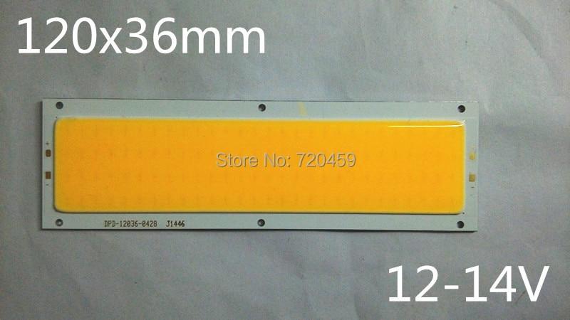 LED plocha vyzařující COB světelná páska lampa panel panel DRL - LED Osvětlení