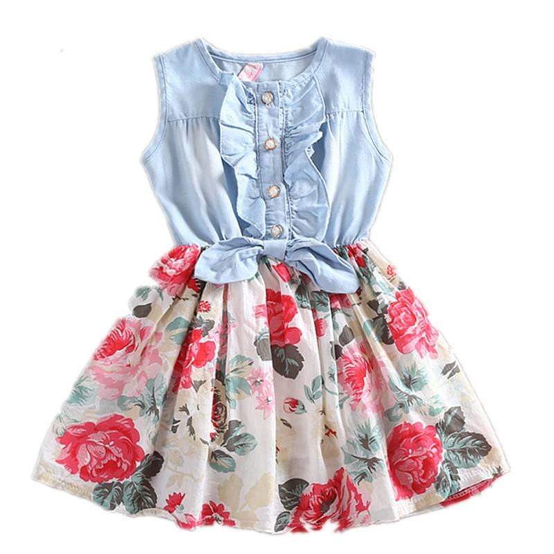 Girls-Dress-Summer-2015-Girl-Flower-Dress-Baby-Sleeveless-Dresses-Children-Denim-Dresses-Kids-Party-Princess
