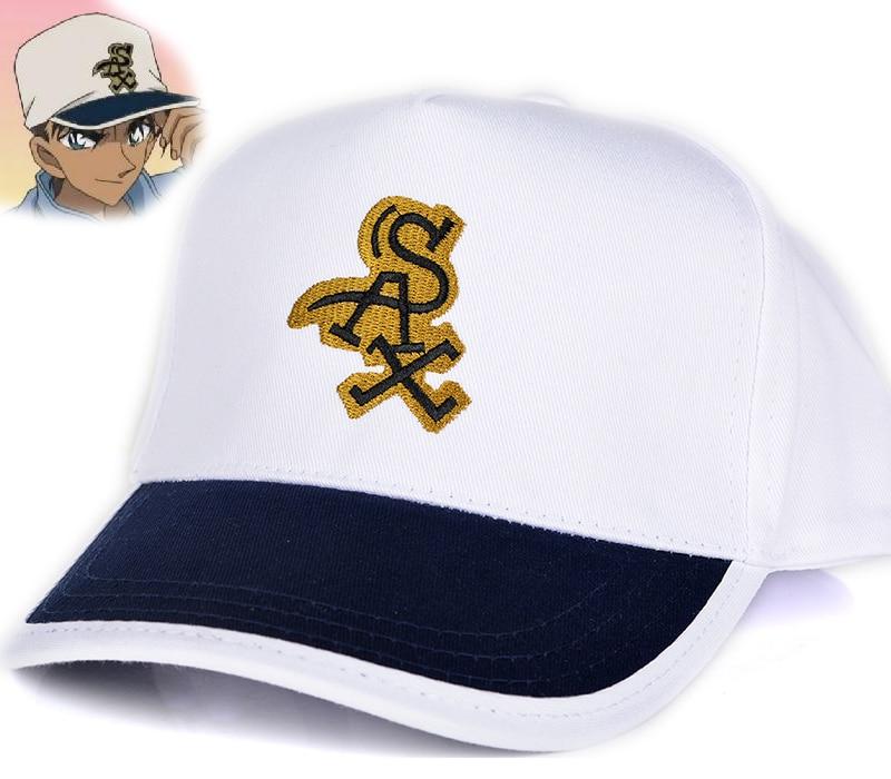 Detective Conan Hattori Heiji Cosplay Chapéu do Snapback do Boné de Beisebol 100% Algodão