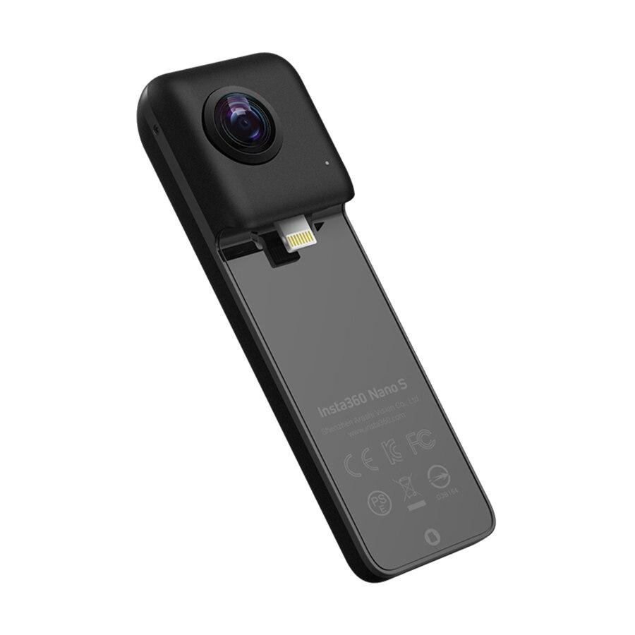 (В наличии) 2018 Новое поступление insta360 Nano S 360 панорамный Камера 4 К видео + 20 Мп фотографии