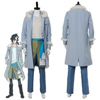 Anime Sirius the Jaeger Yuliy Cosplay Costume Outfit Adult Men Boy Halloween Carnival Costumes Custom Made