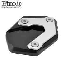 Bjmoto Moto side stand support enlarger shoe large foot bigfoot For BMW R1200GS LC 2013-2018 R1200GS Rallye R1250GS R 1250 GS