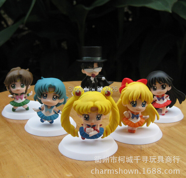 Sailor Moon Anime Action Figure PVC Collection Toys