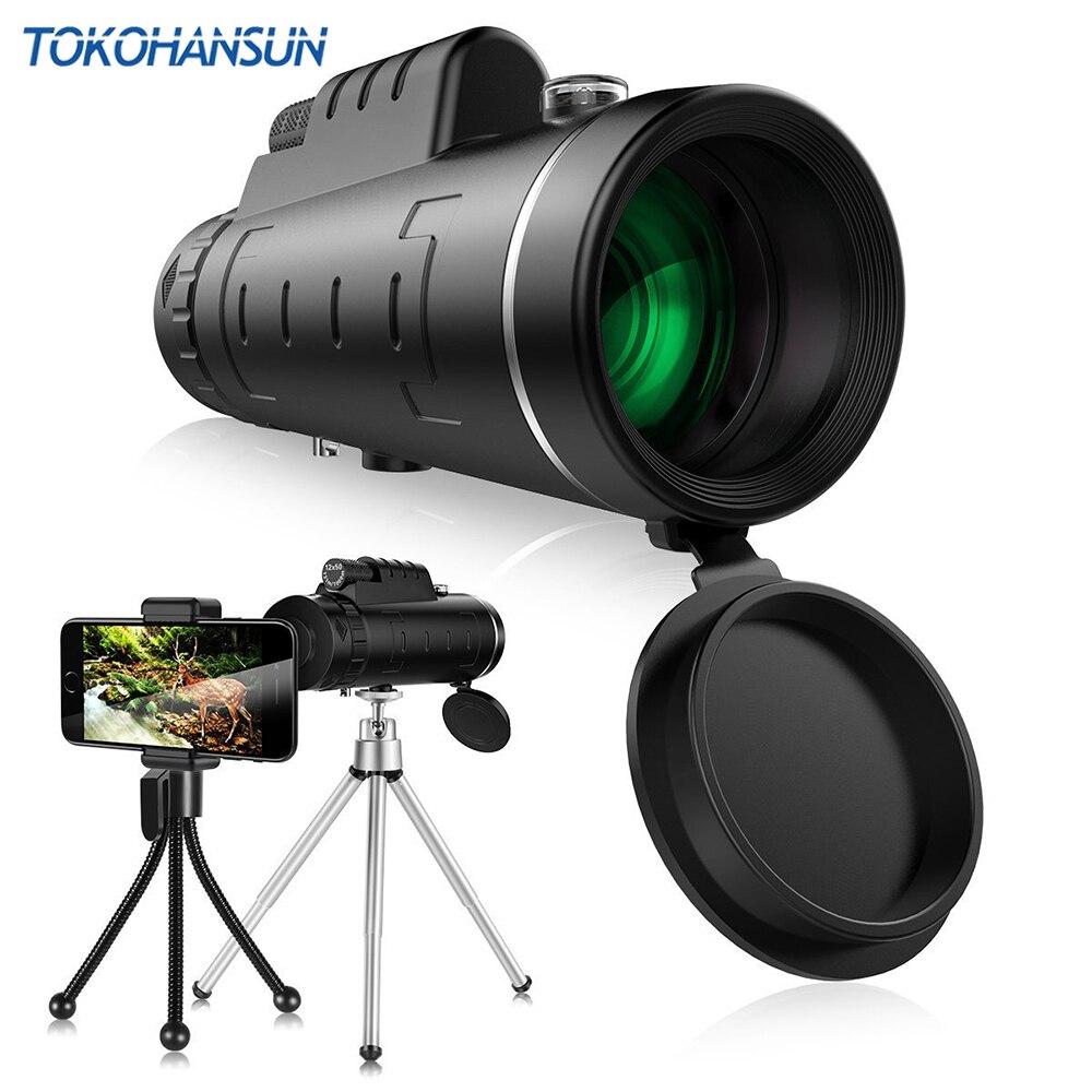 Universal 40X cristal óptico Zoom telescopio telefoto teléfono móvil lentes lente de la cámara para iPhone Samsung iOS Android Smartphones