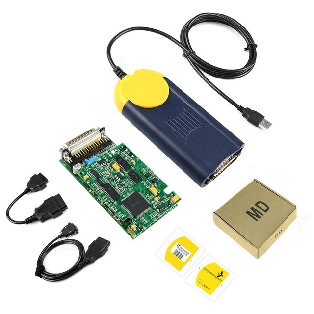 2019 Diagnostic tool Multi-Diag Multi Diag Access J2534 v2018.3 interface OBD2 Device Multidiag J2534 with free shipping