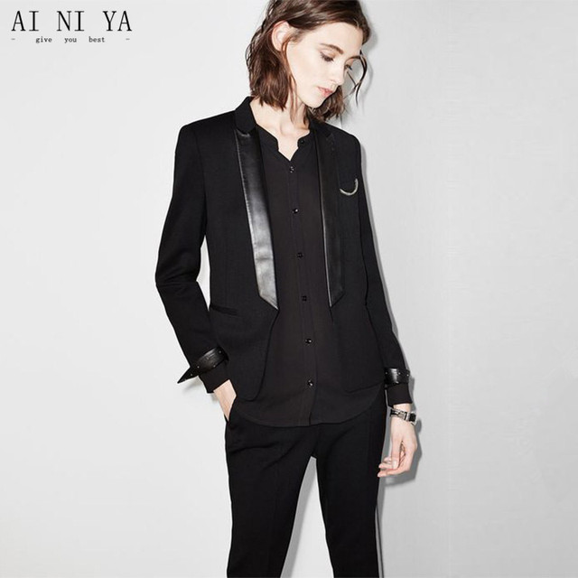 Summer Ladies Elegant Pant Suits Brazers Womens Business Suits