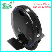 2019 Newest super Gotway Nikola electric unicycle monowheel,one wheel scooter 84V 2100WH,2000W motor,max 55km/h Upgraded version