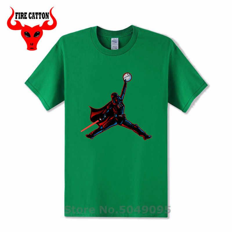 Gwiazda koszykówki wars Tee shirt to nie jest koszykówka Tshirt mężczyźni śmieszne powietrze Vader koszulki z krótkim rękawem Darth Vader T-shirt ostatnich jedi Yoda koszula