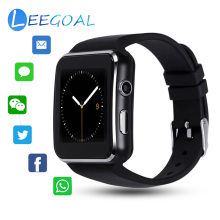 Sporting Smart Watch Curved Screen X6 Smart Bracelet SIM Card Dual Mode 0.3MP Camera 16G TF Sleep Monitoring Support Android IOS