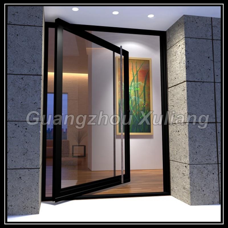 Aluminum Frame Pivot Entry Door Glass Pivot Door In Doors