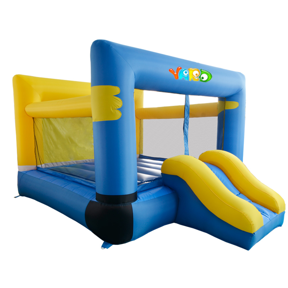 Bounce House Inflatable Slide Kids Jumping Walk Moon Playhouse Bouncy Castle Trampoline For Kids Best Gift For Children