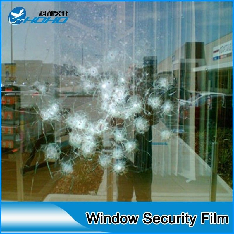 1.52M*20M 2mil Safety Film/Glass Protection Film/security film/Transparency Glass Protector,house/car used