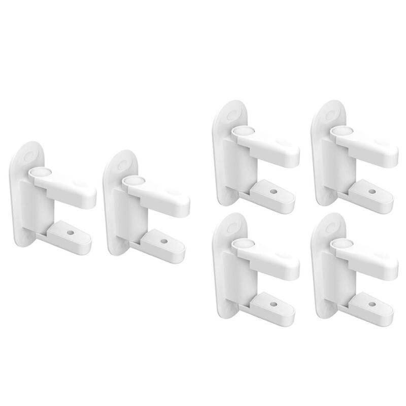 2 4pcs Pro Plastic Kids Safety Door Locks Protection Doors Security Latch PNLO in Cabinet Locks Straps from Mother Kids