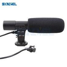 Microfono Stereo esterno per fotocamera professionale per Nikon D7500 D7200 D5600 D5500 D5300 D5200 D3300 D810 D750 D500 D5 D4