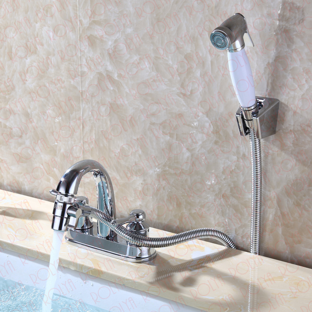 Solid Metal Kitchen And Bathroom Faucet Diverter Aerator Sink Mixer ...
