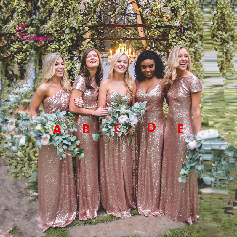 Online Buy Wholesale gold bridesmaid dresses from China gold ...