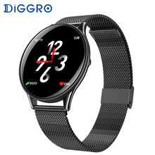 Diggro SN58 Smart Watch Waterproof Heart Rate Blood Pressure Touch Screen Bluetooth Smartwatch Bracelet For Android IOS PK Q8(China)