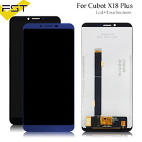 5.99'' Tested Well For Cubot X18 Plus LCD Display+Touch Screen Digitizer Assembly Spare Parts+Tools