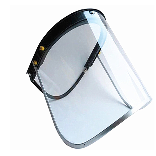 With Frame Welding Workwear Lightweight Safety Transparent Eye Protection Flip Up Flame Retardant Mask Face Shield Screen 1