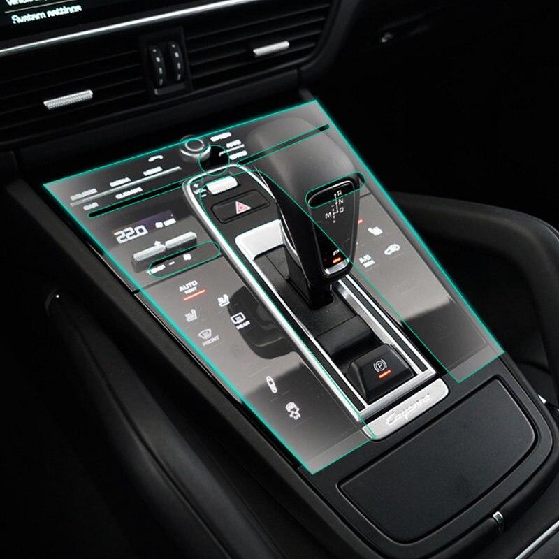 1 SET intérieur voiture accessoires housse de protection Film de protection pour Porsche Cayenne 3rd Gen (PO536) 2018 2019 conduite à gauche