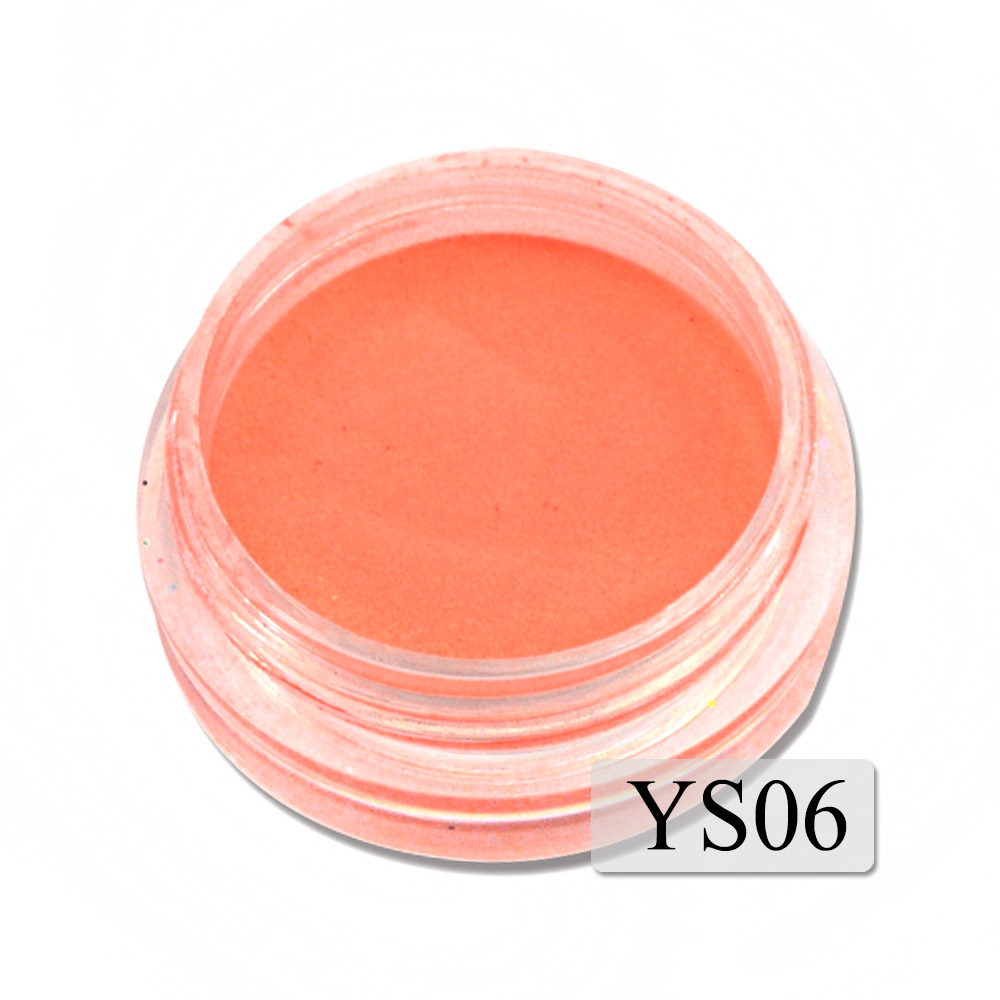 1g Ultrafine Fluorescent Nail Powder Neon Phosphor Colorful Nail Art Glitter Pigment 3D Glow Luminou