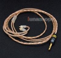 LN004151 120 см пользовательские 6N кабель OFC для Shure se535 Se846 Ultimate UE900 наушники гарнитуры