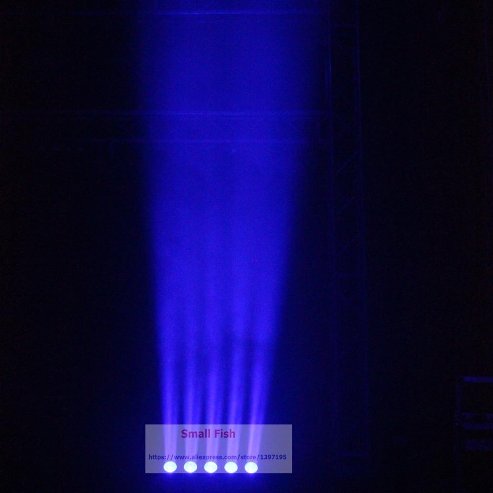 Купить с кэшбэком 1Pcs/Lot LED Bar Lights 5X15W RGBW Quad Color LED Stage Beam Lights With 4/11/20 DMX Channels For Dj Disco KTV Nightclubs