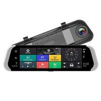 10 дюймов 4G Мобильный Dvr Зеркало заднего вида Dvr Камера Двойной объектив Android 5,1 Dash Cam приложение Adas Предупреждение Bluetooth двойной объектив G Сен